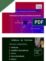 Física - Pré-Vestibular Dom Bosco - Introdução ao Estudo da Dinâmica da Partícula