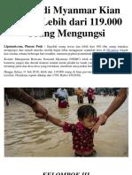 Banjir Di Myanmar Kian Parah
