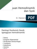 Gangguan Hemodinamik & Syok
