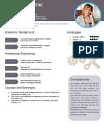 Ejemplo Curriculum Vitae Profesional Ingles 765 PDF