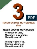 003-Tengo Un Dios Muy Grande