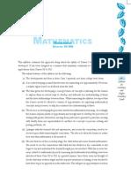 05 Mathmetics (class IX-XII)