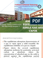 140990105010 Adsorption Equilibria
