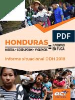 1546904910731_Honduras Informe Situacional de Defensores DDHH 2018