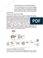 IVD Antibody Development Services for C-reactive Protein Marker