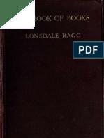 book of books study 1910