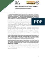 Informe Academico de Katherine de Participacion en El 13 Congreso Internacional Minero Sonora - Copia