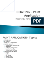 Technical Presentation Coating Paint Application