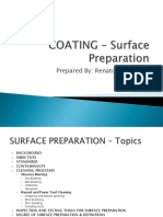 Technical Presentation Coating Surface Preparation
