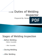 Technical Presentation_Duties of Welding Inspector