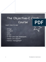 Objective-C Crash Course