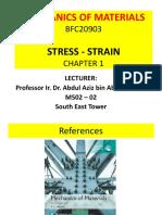 Chapter 1 Stress Strain