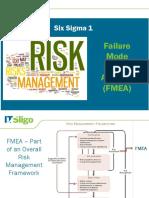 Lecture 11 - Six Sigma 1 - FMEA