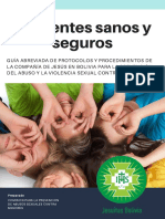 Guía de divulgación Protocolo Ambientes Sanos