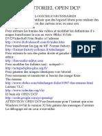 Tutotial de Open DCP