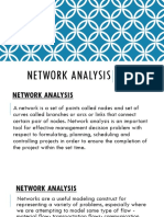 CHE522 Network Analysis