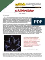 10 Licao Aura Efeito Kirlian