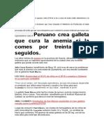 Anemia en El Peru