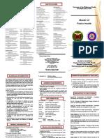 MPH flyer