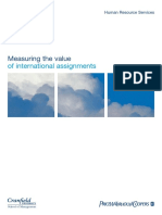 Pwc Measuring the Value