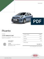 Kia Configurator Picanto Concept 20190203
