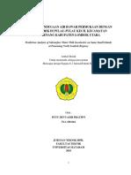 ARTIKEL ILMIAH ANALISIS PENDUGAAN AIR BAWAH PERMUKAAN DENGAN GEOLISTRIK DI PULAU-PULAU KECIL KECAMATAN PEMENANG KABUPATEN~1.pdf