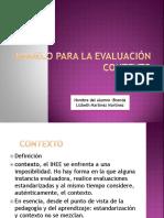 Modelo Para La Evaluación Contexto