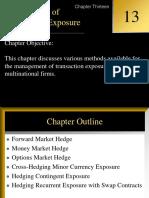IFM Ch 4 Transaction Exposure
