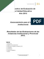 Dispositivo Evaluacion de Calidad 2012 (1)