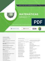 Mallas de Aprendizaje - Matemáticas 1°.pdf