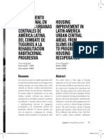 Mejoramiento residencial en Latinoamerica