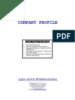 Aqua Rock Profile