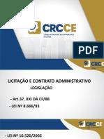 CRC CE - Licitação.pptx