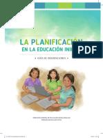 La Planificacion en La Educacion Inicial Guia Orientaciones