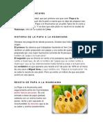 Papa a La Huancaina b