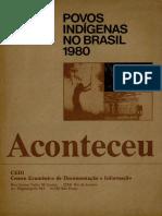 Povos Indígenas No Brasil 1