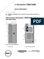 Dell Precision t5600 Manual
