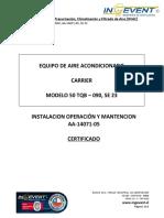 12.2.Anexo B_10_MANUAL IOM_ AA-14071-05_ SE 23