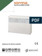 Istruzioni Installatore NORMA-1.0