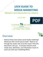A Guide to Social Media Marketing