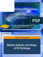 Seismic Analysis and Design of Buildings Manila March 2006.ppt