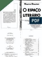Maurice Blanchot, O espaço literário.pdf
