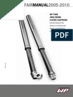 2005-2012 KTM WP 4860 CC Fork Repair Manual