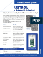 Irritrol for irrigation endodontic