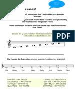 Arbeitsblatt Klasse 1 - Intervalle PDF