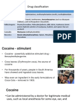 Addictive Drug Classification