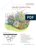 Bird Butterfly Garden Plan