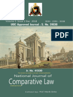 National Journal of Comparative Law (NJCL) v5 s2  DEC 2018