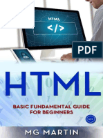 HTML Basic Fundamental Guide for Beginners