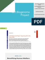 Eart Biogenome Proyect.